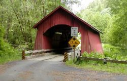 North Fork of the Yachats River Covered Bridge