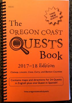 Go On An Oregon Coast Quest: YYFAP Habitats of Diversity Quest